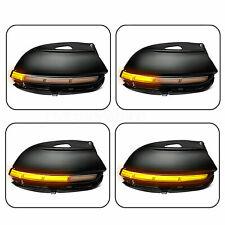1 Pair LED Dynamic Turn Signal Light Mirror Indicator For VW Passat B7 CC EOS
