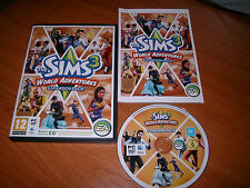 Les Sims 3 World Adventures Expansion PC/Mac DVD V.G.C. FAST POST complet