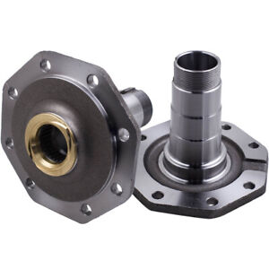 Front Steering Hub Stub Axle Spindle for Toyota Landcruiser 78 79 80 105 Series
