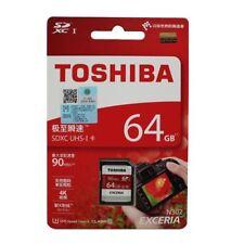 64gb 90MB/S Toshiba SDXC Exceria Carte Mémoire Sd Classs 10 UHS-1 U3 pour Caméra