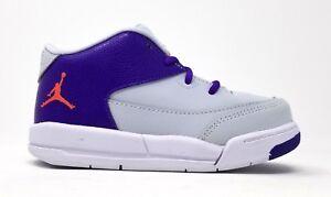 820252-007 Nike Toddler Jordan Flight Origin 3 GT Pr Pltnm/Embr Glw-Frc Prpl-Whi