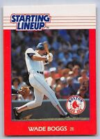 1988  WADE BOGGS - Kenner Starting Lineup Card - BOSTON RED SOX
