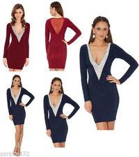 ASOS Polyester V-Neck 3/4 Sleeve Dresses for Women