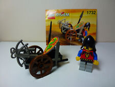 LEGO Castle Dragon Knights Crossbow Cart (1732) with original instructions