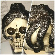 latex mould for making THIS OCTOPUS SKULL