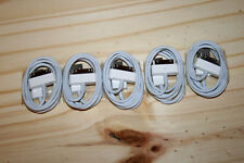 Lot of 5 Genuine OEM Authentic Official Apple iPhone 4S 4 iPod USB Cable Charger