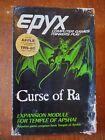 Curse Of Ra Apple Ii Trs-80 Epyx Automated Simulations Computer Game Apshai 1982