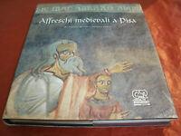Affreschi medievali a Pisa - Antiche Pitture+Catalogo 267 Pag. Anno 2003
