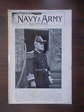 VINTAGE MAGAZINE THE NAVY & ARMY ILLUSTRATED VOLUME 1 No 5 FEBRUARY 21st 1896