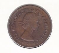 CB1443) Australia 1959 Melbourne Penny. Choice uncirculated lightly toned coin