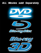 Dvd | Blu-Ray | 3D Blu-Ray Movies. New and Used (Sold Separately)