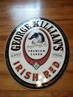 George Killians Irish Red Logo 1999 Metal Sign