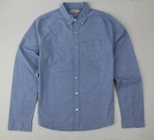 New Hollister Men's Classic Fit Blue Shirt Size XL