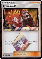 Pokemon TCG Lysandre Trainer 110/131 Forbidden Light Prism Star Rare NM/M