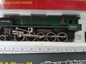 Hornby Railways 2-10-0 Class 9f 'Evening Star 92220 Green OO Gauge See descripti