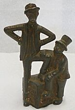 OLD CAST IRON MUTT AND JEFF COIN BANK