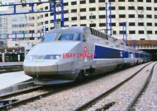 PHOTO  TGV PARIS MONTRANAOARSE 1990