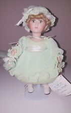 "Sea Foam Taffy 10"" Limited Porcelain Collectible Doll Kathleen Stayton"