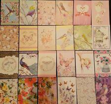 Hunkydory little books- wonderful wings- 24 sheets
