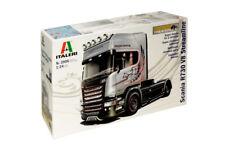 "Italeri 3906 1/24 Show Truck Model Kit Scania R730 Streamline V8""Silver Griffin"""
