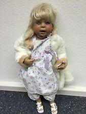 """Künstlerpuppe ! """" Porzellan Puppe """" 80 cm. Limitierte Auflage"""