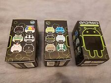 3 Android mini figurines collectibles Series 02 SEALED blind box mint