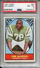 1967 Topps #94 Jim Harris PSA 8 NM-MT New York Jets