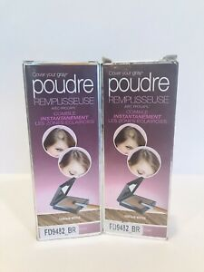 2 X Cover Your Gray Fill-In Powder Hair Color w/ Procapil - Medium Brown NIB