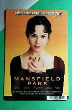MANSFIELD PARK DAVIDTZ MILLER NIVOLA MINI POSTER BACKER CARD (NOT a movie dvd )