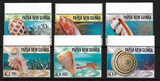 PAPUA NEW GUINEA SG1050/5, 2004 SEA SHELLS MNH