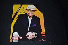 SERGIO MENDES signed Autogramm 20x25 cm In Person BOSSA NOVA