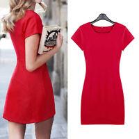 New Womens Ladies Party Club Dress Clubwear AU Size 8 10 12 14 16 18 20 22 #538H