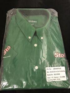 "Stobart Group  short sleeve Drivers shirt  Collar Size 17"""