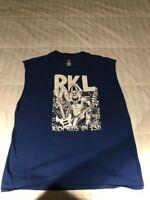 RKL Shirt Sleeves Cut Size XL Punk