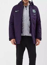 Nike FC Barcelona Men's Squad Jacket AJ3055-525 Purple Size L New