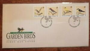 FDC Singapore 1991 - Garden Birds (4v)