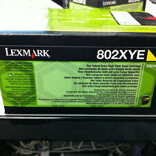 Original Lexmark 80C2XYE 802XYE Toner gelb CX510 4.000 S. A-Ware 80C2XY0  802XY