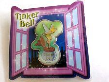 Disney Pin - Japan Tinkerbell Inkwell Window Card and Pin - Peter Pan