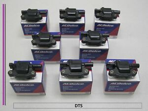 Set of 8 New A/C Delco Ignition Coil D510C,UF413,12570616,BSC1511