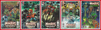 MONSTERS UNLEASHED #1 2 3 4 5 (1st PRINT) Marvel 2017 NM- NM