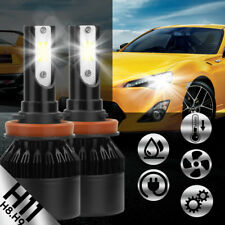 For Nissan Altima Sentra H11 LED 388W 38800LM Headlight Kit Hi/Lo Beam Bulb