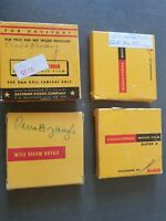 Vtg Lot of 4 Kodachrome 8mm Film 1950s 1960s Vacation Travel Reno Home Movies