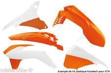 Kit plastiques Coque Racetech KTM SX-F 250 350 450  2015 Couleur: Orange 7804895