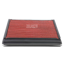 Fit Volvo V50/S60/S40/C70 Red Reusable/Washable Drop In Air Filter Panel