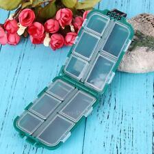 Plastic Box Fishing Tackle Box Small Accessory Box Square Fishhook Box