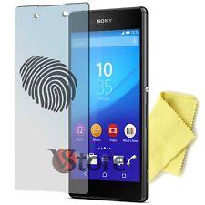 "4 Pellicola Opaca Per Sony Xperia Z3+ Plus Antimpronta Antiriflesso Display 5,2"""