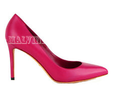 $635 GUCCI SHOES BROOKE HIGH HEEL POINT TOE PUMP PINK LEATHER sz 38 / 8