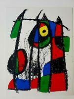 JOAN MIRÓ - ORIG. FARBLITHOGRAPHIE VII- aus Lithograph II 1953 - 1963