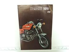 Vintage Benelli 750 Sei 6 Cylinder Motorcycle Brochure L509