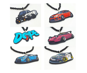 Drift Car Keyring - Gift - Novelty - Rear View Mirror Decoration - Keychain